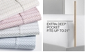 Sunham CLOSEOUT! Sorrento Print Extra Deep Pocket Queen 6-Pc Sheet Set, 500 Thread Count, Created for Macy's