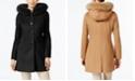 Forecaster Fox-Fur-Trim Hooded Walker Coat, Created for Macy's