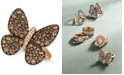 Le Vian Chocolatier®  Chocolatier Diamond Butterfly Ring (1-7/8 ct. t.w.) in 14k Rose Gold