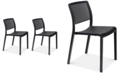 Furniture Trama Set of 2 Indoor/Outdoor Chairs