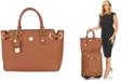 Joy Mangano Christie Leather Satchel