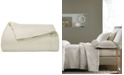 Hotel Collection CLOSEOUT!  Woven Accent Quilted Full/Queen Coverlet, Created for Macy's