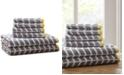JLA Home Intelligent Design Nadia 6-Pc Cotton Jacquard Towel Set