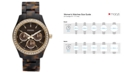 Fossil Women's Stella Tortoise Resin Bracelet Watch 37mm ES2795