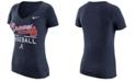 Nike Women's Atlanta Braves Practice T-Shirt