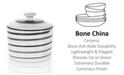 Mikasa Dinnerware, Cheers Sugar Bowl Spiral