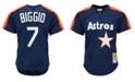 Mitchell & Ness Men's Craig Biggio Houston Astros Authentic Mesh Batting Practice V-Neck Jersey