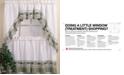 "CHF Cottage Ivy 36"" Window Tier & Swag Valance Set"