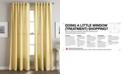 """CHF Hayden Waffle-Weave 50"""" x 84"""" Tab Top Window Panel"""