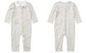 Polo Ralph Lauren Ralph Lauren Baby Girls Printed Cotton Coverall