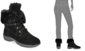 Style & Co Angiee Lace-Up Cold Weather Boots, Created for Macy's