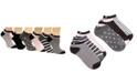 Disney Women's 6-Pk. Mickey Mouse Stripes No-Show Socks