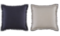 "Tommy Hilfiger Menemsha Cotton Reversible Textured 20"" Square Decorative Pillow"
