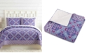 Jessica Simpson Vera Bradley Purple Passion Twin Quilt