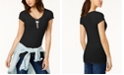 Planet Gold Juniors' V-Neck T-Shirt