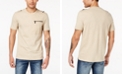 Sean John Men's Zip-Pocket Flight T-Shirt, Created for Macy's