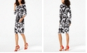 INC International Concepts I.N.C. Printed Tie-Waist Dress, Created for Macy's