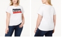 Levi's Trendy Plus Size  Cotton Logo T-Shirt