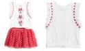 Disney 2-Pc. Minnie Mouse T-Shirt & Skirt Set, Toddler Girls