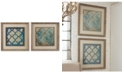 Uttermost Stained Glass Indigo 2-Pc. Wall Art Set