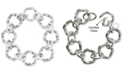 Peter Thomas Roth Overlap Ring Link Bracelet in Sterling Silver