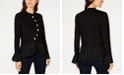 INC International Concepts INC Tiered Sweater Jacket, Created for Macy's
