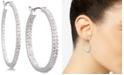 Lauren Ralph Lauren Crystal In & Out Hoop Extra Small Earrings