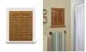 "US Shade & Shutter Plantation Faux Wood Interior Shutter, 23-25""  W x 24"""