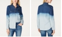 INC International Concepts INC Ombré Jean Shirt, Created for Macy's