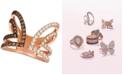 Le Vian Nude Diamonds™ & Chocolate Diamonds® Cuff Statement Ring (1-1/6 ct. t.w.) in 14k Rose Gold