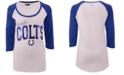 5th & Ocean Women's Indianapolis Colts Colorblocked Raglan T-Shirt