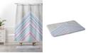Deny Designs Iveta Abolina Chevron Confetti Bath Mat