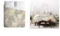 Deny Designs Holli Zollinger Jungle Tiger Linen Queen Duvet Set