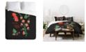 Deny Designs Holli Zollinger Desert Botanical Globe Mallow King Duvet Set