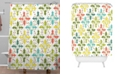 Deny Designs Heather Dutton Holly Go Lightly White Shower Curtain