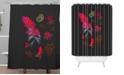 Deny Designs Holli Zollinger Desert Botanical Indian Paintbrush Shower Curtain