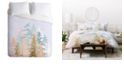 Deny Designs Iveta Abolina Blush Forest Twin Duvet Set