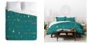 Deny Designs Iveta Abolina Morocco On My Mind III Queen Duvet Set