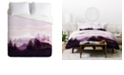 Deny Designs Iveta Abolina Purple Horizon Twin Duvet Set