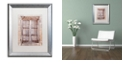 """Trademark Global Cora Niele 'French Window I' Matted Framed Art, 16"""" x 20"""""""
