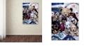 "Trademark Global Jenny Newland 'Puppy Party' Canvas Art, 24"" x 32"""