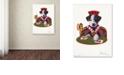 "Trademark Global Jenny Newland 'Jack Of Hearts' Canvas Art, 24"" x 32"""
