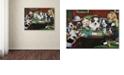 "Trademark Global Jenny Newland 'Calling Your Bruff' Canvas Art, 14"" x 19"""