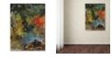 """Trademark Global Nick Bantock 'Elephants' Canvas Art, 18"""" x 24"""""""