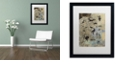 "Trademark Global Nick Bantock 'Handmade Petros' Matted Framed Art, 16"" x 20"""