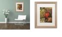 "Trademark Global Nick Bantock 'Heart' Matted Framed Art, 16"" x 20"""
