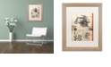 "Trademark Global Nick Bantock 'Sphinx' Matted Framed Art, 16"" x 20"""