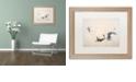 "Trademark Global Nick Bantock 'Wings' Matted Framed Art, 16"" x 20"""