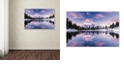 "Trademark Global Michael Blanchette Photography 'Alpine Pink' Canvas Art, 12"" x 19"""