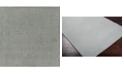 """Surya Mystique M-211 Medium Gray 18"""" Square Swatch"""